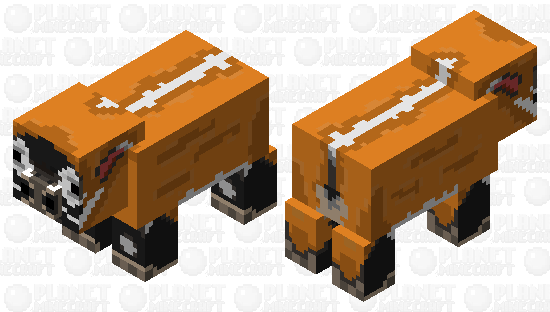 Red River Hog Minecraft Skin