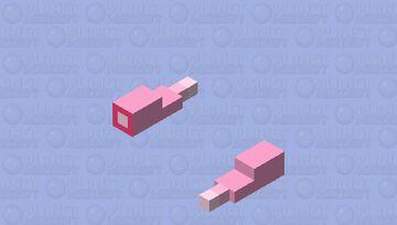 Slowpoke tail (Updated) Minecraft Mob Skin