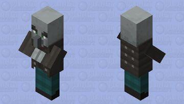 Peaceful Vindicator Minecraft Mob Skin