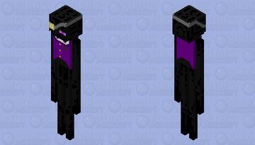 Endsworth the enderman Minecraft Mob Skin