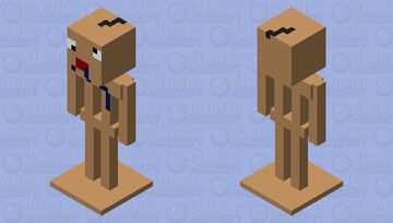 DERPY ARMOUR STAND Minecraft Mob Skin