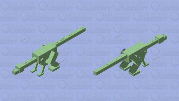 Komodo Dragon Minecraft Mob Skin