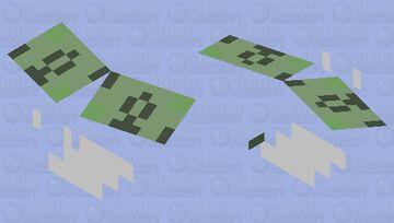 Flying money (idk) Minecraft Mob Skin