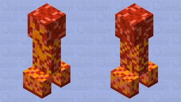 Nether update Creeper - Elemental Contest Minecraft Mob Skin