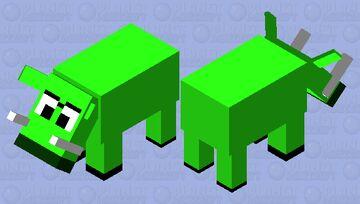 The Bigger Even Scarier Minion Pig Minecraft Mob Skin