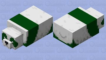 see turtle pand Minecraft Mob Skin