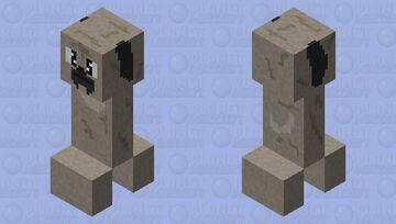 Creeper Pug (HD) Minecraft Mob Skin