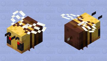 Bees kill you!!! Minecraft Mob Skin