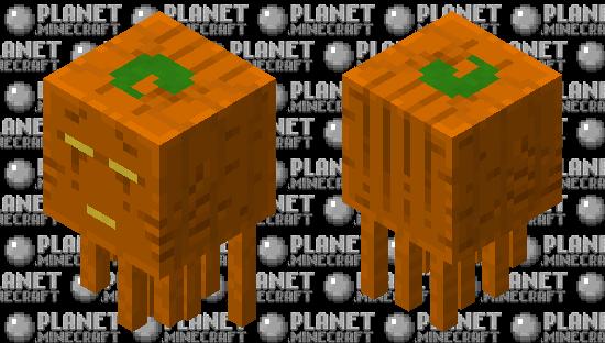 Jack 'O' Lantern Ghast Minecraft Skin