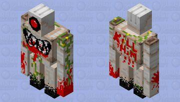 Monster golem Minecraft Mob Skin