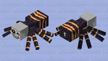 Spider Demon from Demon Slsyer Anime Minecraft Mob Skin