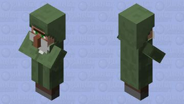 villager with beard Minecraft Mob Skin