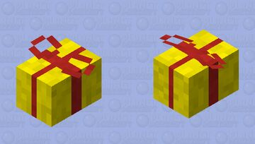 Happy Birthday Poly, have this flying present. Minecraft Mob Skin