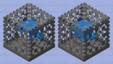 Little Birde In a Cage Minecraft Mob Skin