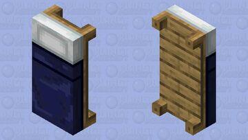 A dark blue bed ;-; Minecraft Mob Skin