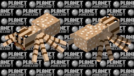 Mama Wolf Spider Minecraft Skin