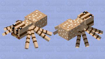 Mama Wolf Spider Minecraft Mob Skin