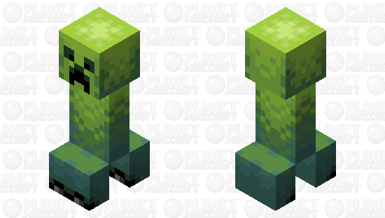 (PMCRP Entry) Creeper & Charged Creeper Minecraft Skin
