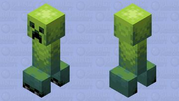 (PMCRP Entry) Creeper & Charged Creeper Minecraft Mob Skin