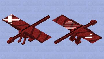Smaug (From the Hobbit) Minecraft Mob Skin