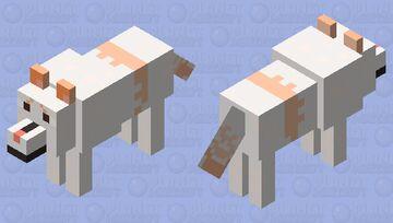 My IRL Dog Minecraft Mob Skin