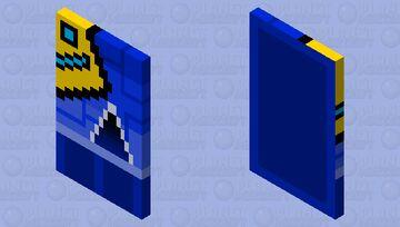 Geometry dash (with elytra) Minecraft Mob Skin