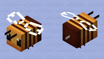 Bee for PMCRP Minecraft Mob Skin