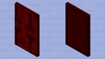 Geometry dash: Bloodbath (With elytra) Minecraft Mob Skin