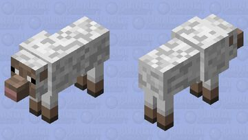 Wolf in Sheep's Clothing Minecraft Mob Skin