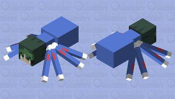 Deku spider Minecraft Mob Skin