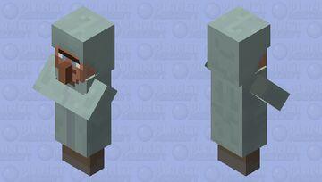 Arctic villager. Minecraft Mob Skin