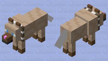 Rockruff Pokemon (Contest) Minecraft Mob Skin