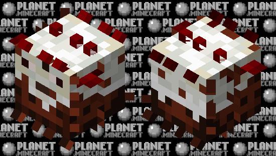 Black Forest Cake | Large Pufferfish Minecraft Skin