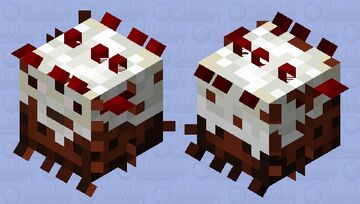Black Forest Cake | Large Pufferfish Minecraft Mob Skin