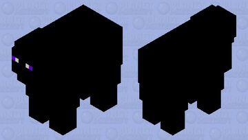 Enderman's pet sheep Minecraft Mob Skin