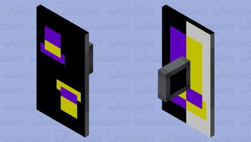 GEBRAIN999 LOGO (shield) Minecraft Mob Skin