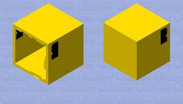 Pac-man Minecraft Mob Skin