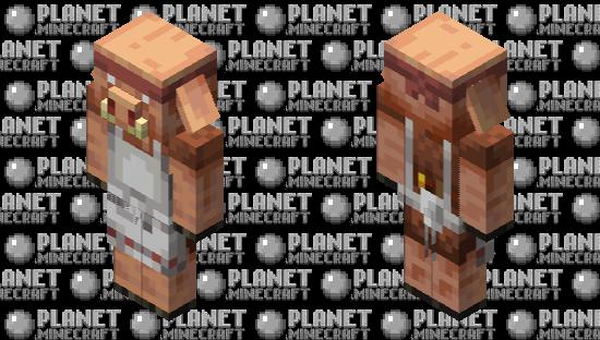 Butcher Piglin Minecraft Skin