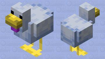 A Blue Chicken... Minecraft Mob Skin