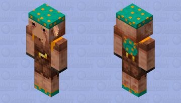 Nether goblin ( the mini thing isn't displaying properly, ) Minecraft Mob Skin