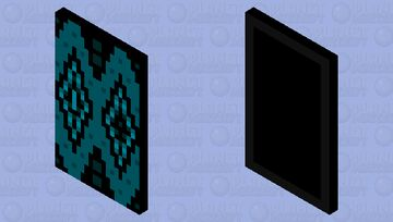 Geometry dash: Sonic Wave (With elytra) Minecraft Mob Skin