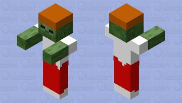 Kitty Mouse Zombie Minecraft Mob Skin