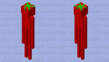 tall tomato Minecraft Mob Skin