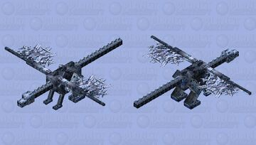 Xemnas Ender Dragon (Eternal Hearts Texture Pack) Minecraft Mob Skin