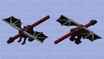 DEMON ENDER DRAGON Minecraft Mob Skin