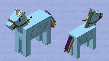 Rainbow Dash Minecraft Mob Skin