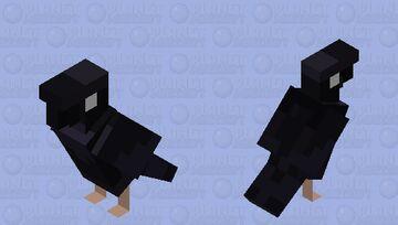 Crow Minecraft Mob Skin