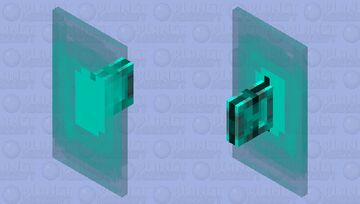 Electric Sheild Minecraft Mob Skin