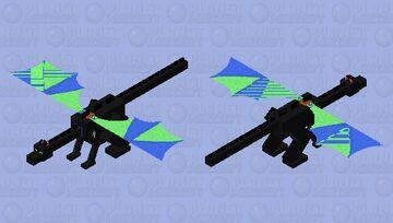 moth the thorntalon (foxx2020's wolfix contest) Minecraft Mob Skin