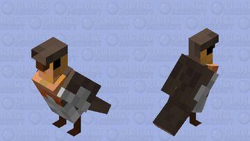 Robin parrot skin Minecraft Mob Skin
